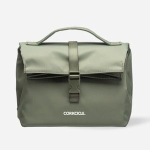 Corkcicle Nona Roll-Top Lunchbox Insulated Olive